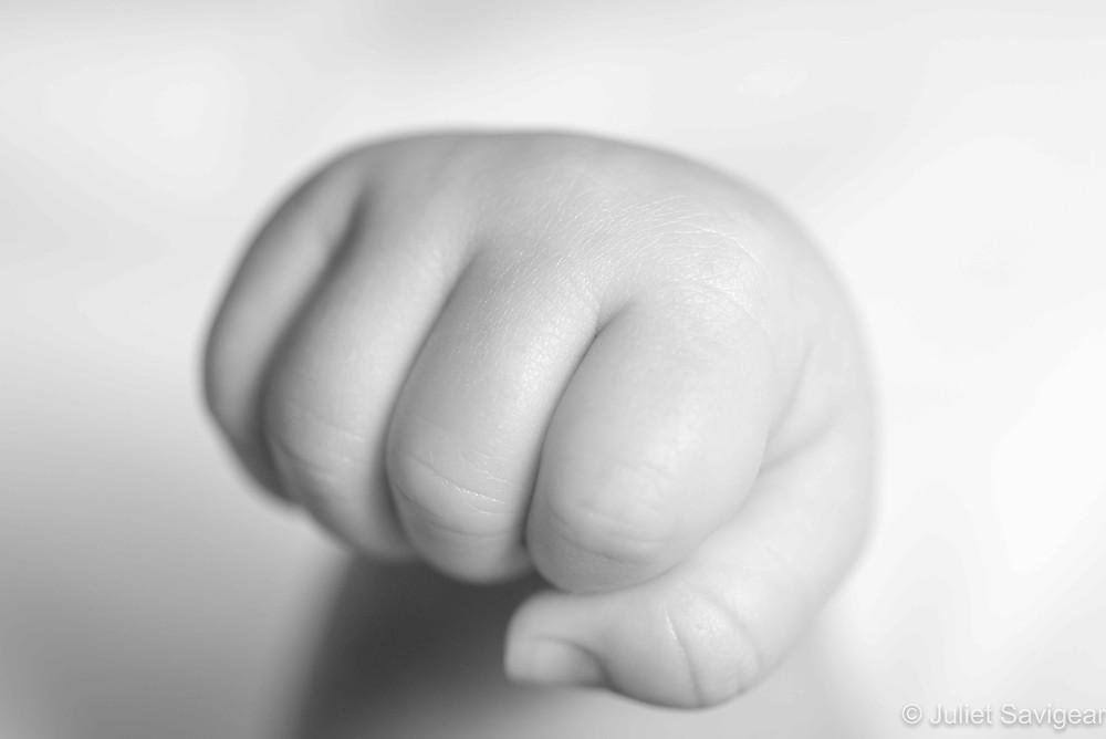 Baby fist pump