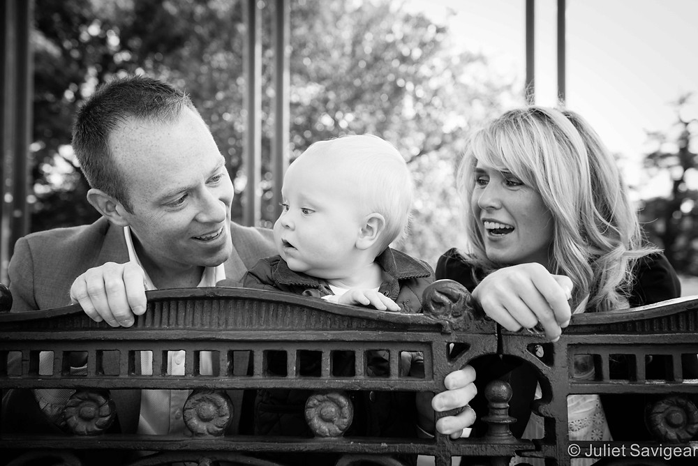 Family Photography - First Birthday Photo shoot - Clapham Common