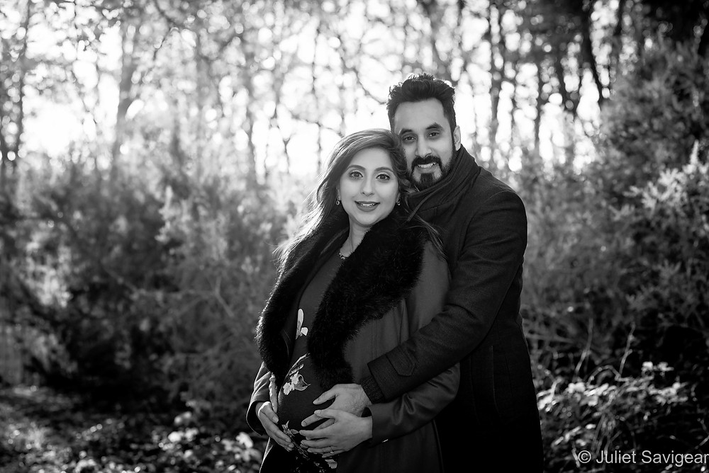 Maternity photography on Streatham Common
