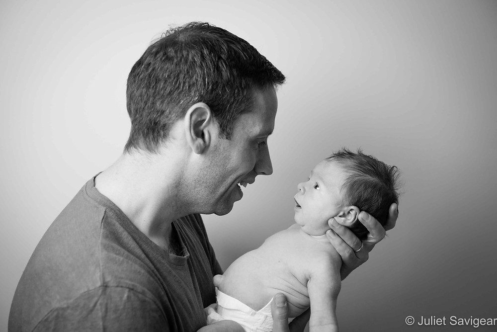 Chats With Daddy - Baby Photography, Earlsfield