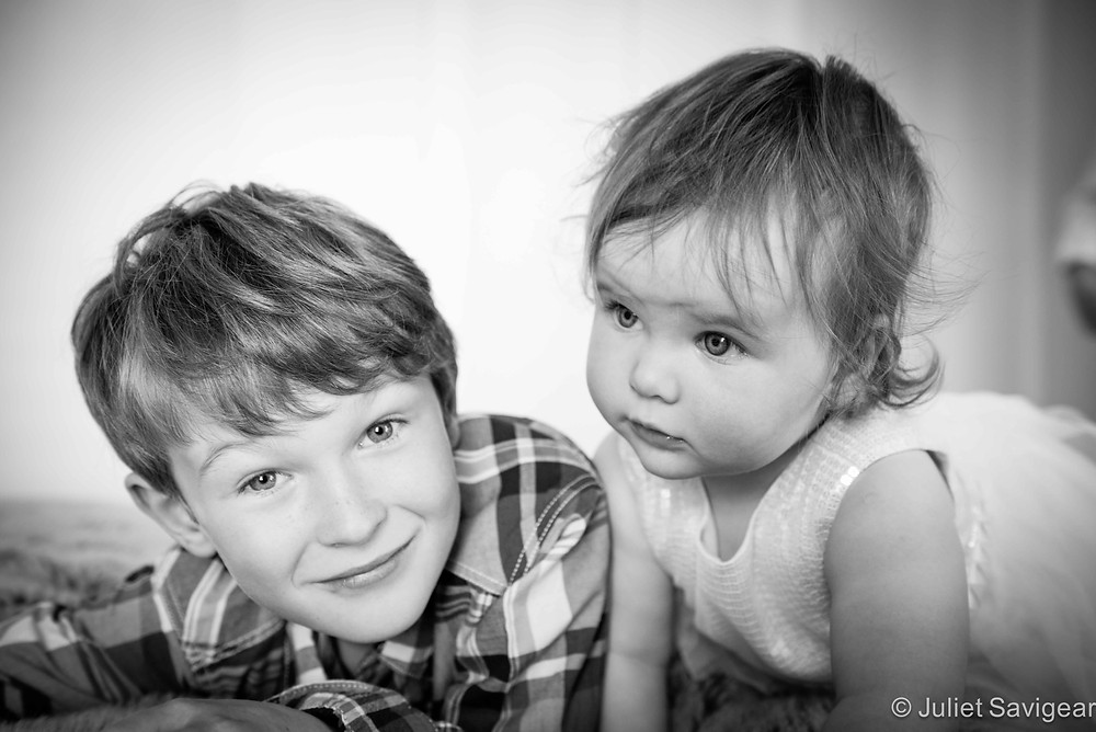 Brother & Sister - Children's Photography, Clapham