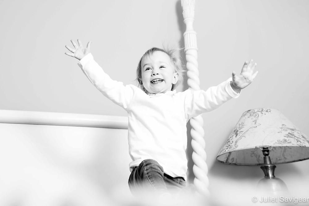 Fun, natural children's photography