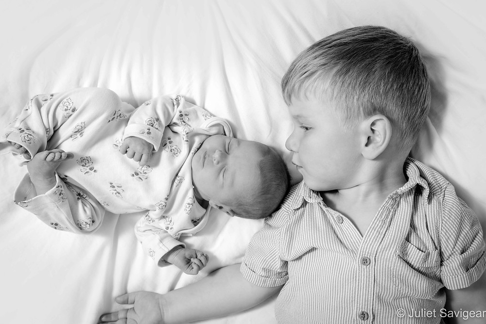 Brother & baby sister
