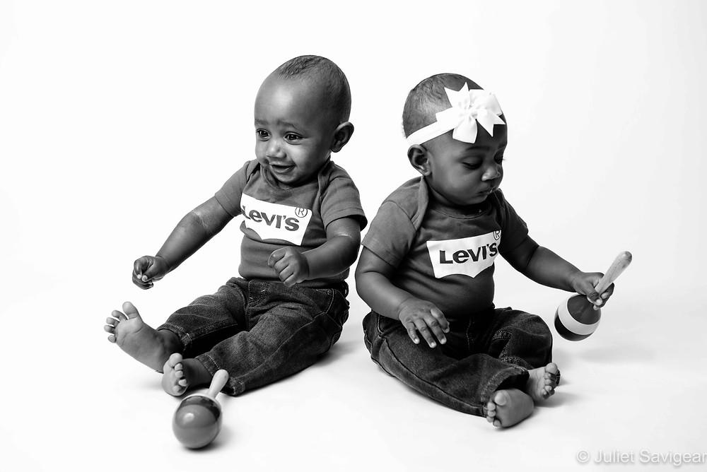 Cool twin babies