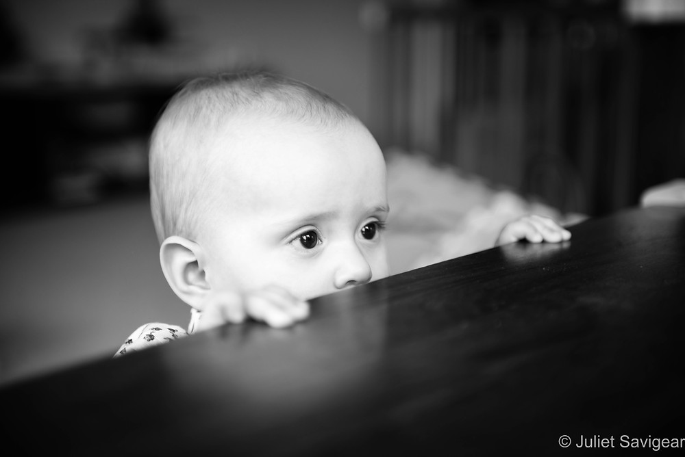 Peek-A-Boo - Baby Photography, Hampstead
