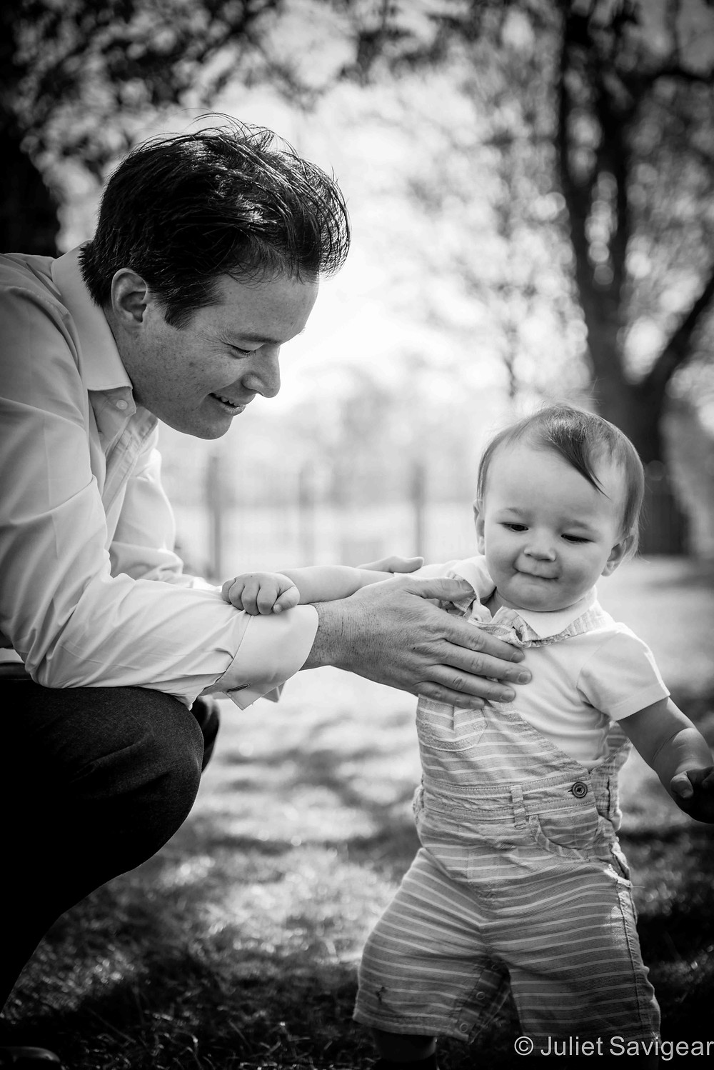 Daddy's Boy - Baby & Family Photography, Clapham Common