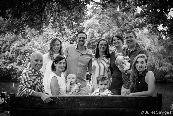 Extended Family Photography Session - Tooting Common