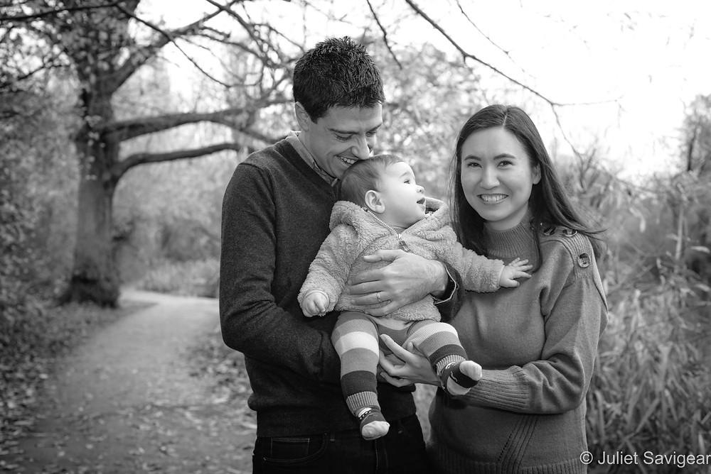 Outdoor family photo