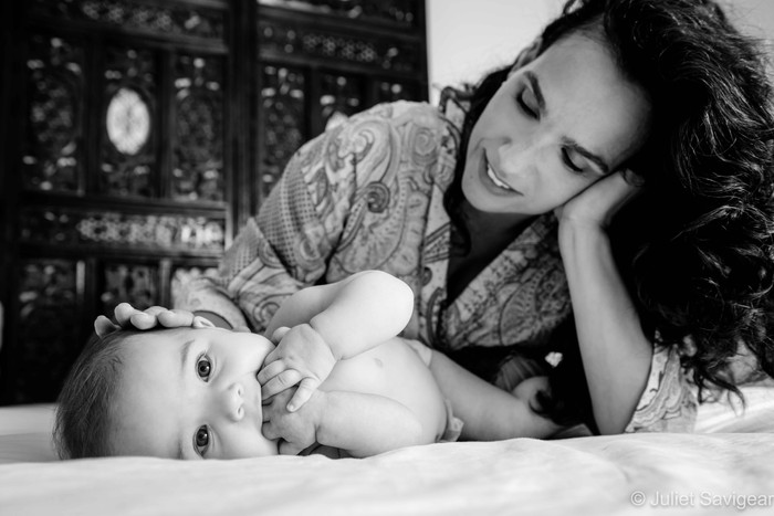 Mother & Baby Photo Shoot - Hampstead
