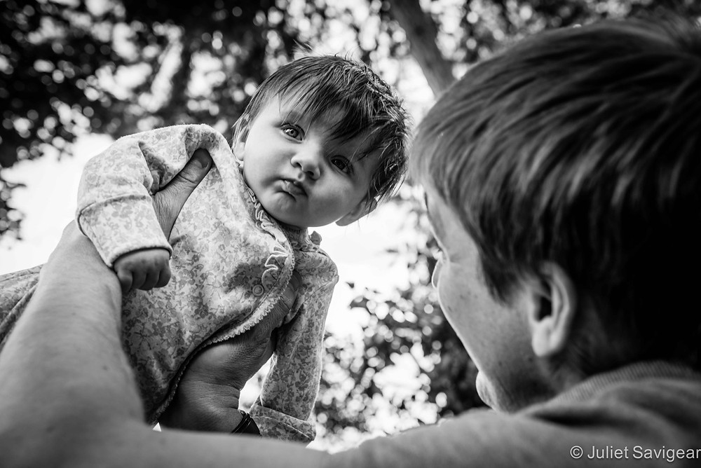Flying High - Baby Photography, Putney