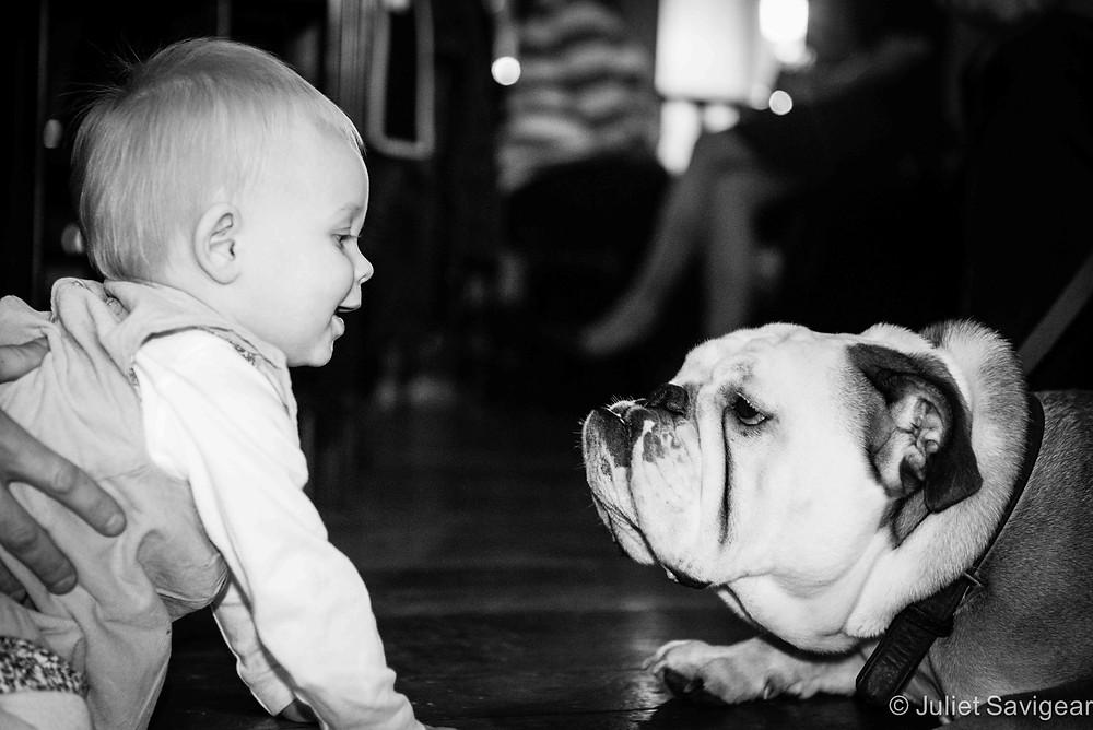 Lyla & The Dog - Children's Photography, Balham