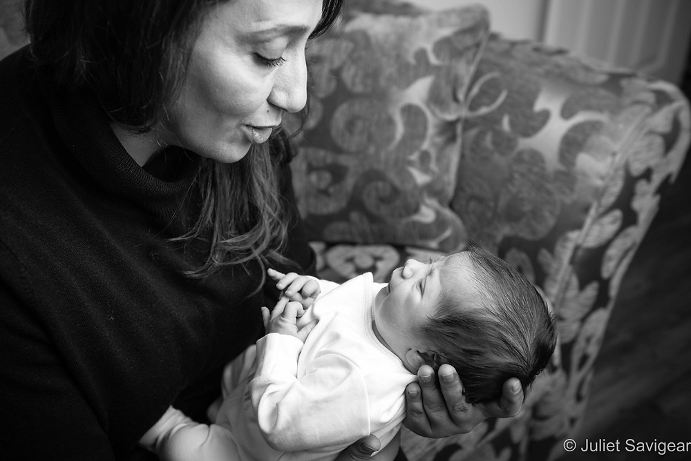 Is That A Smile For Grandma? Newborn Baby Photography - Streatham