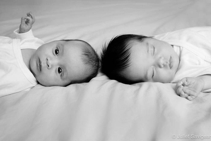 Newborn Baby Twins Photographer - Wandsworth