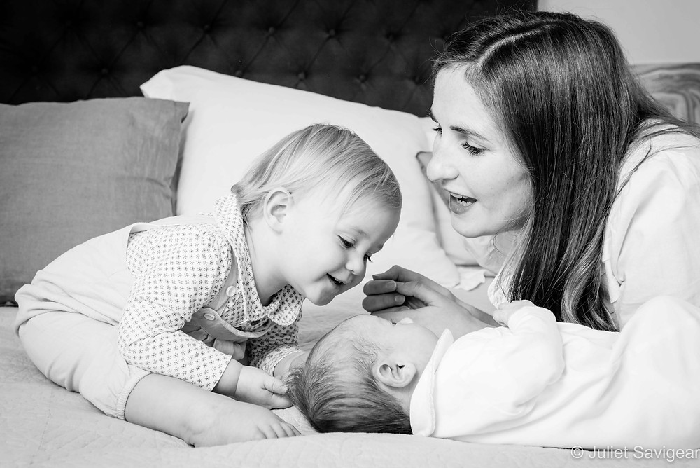 Mummy and her children