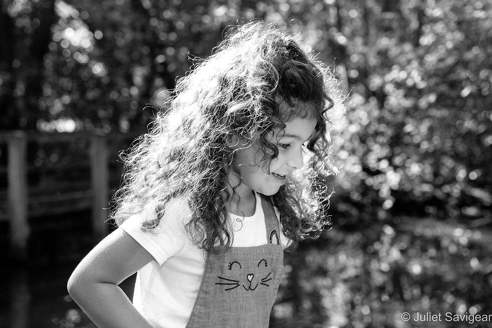 Natural, outdoor children's photography