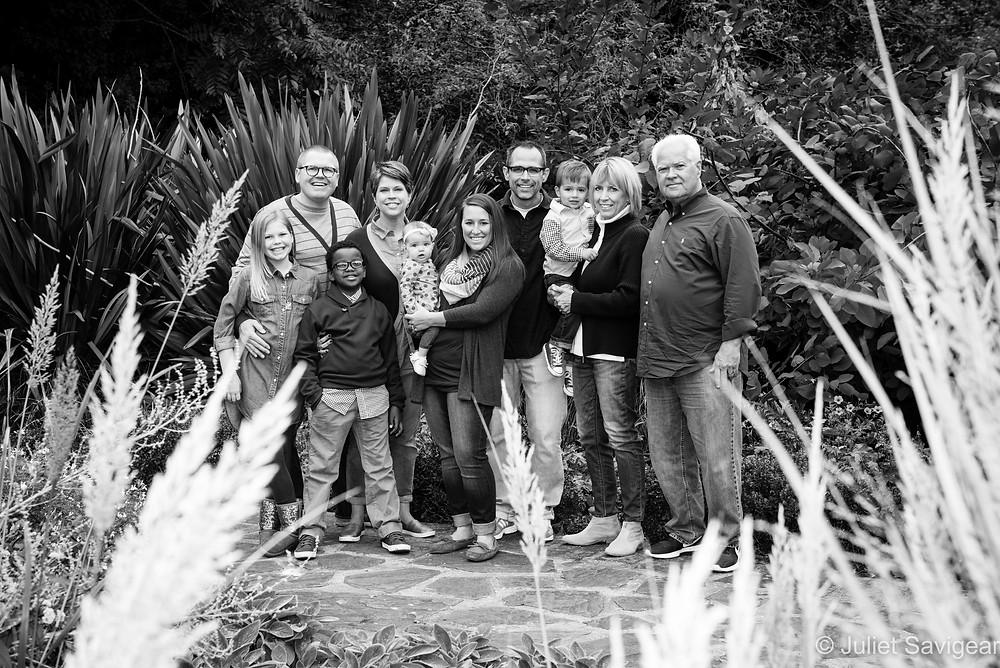 Extended Family Photo Shoot - Southwark Park, London