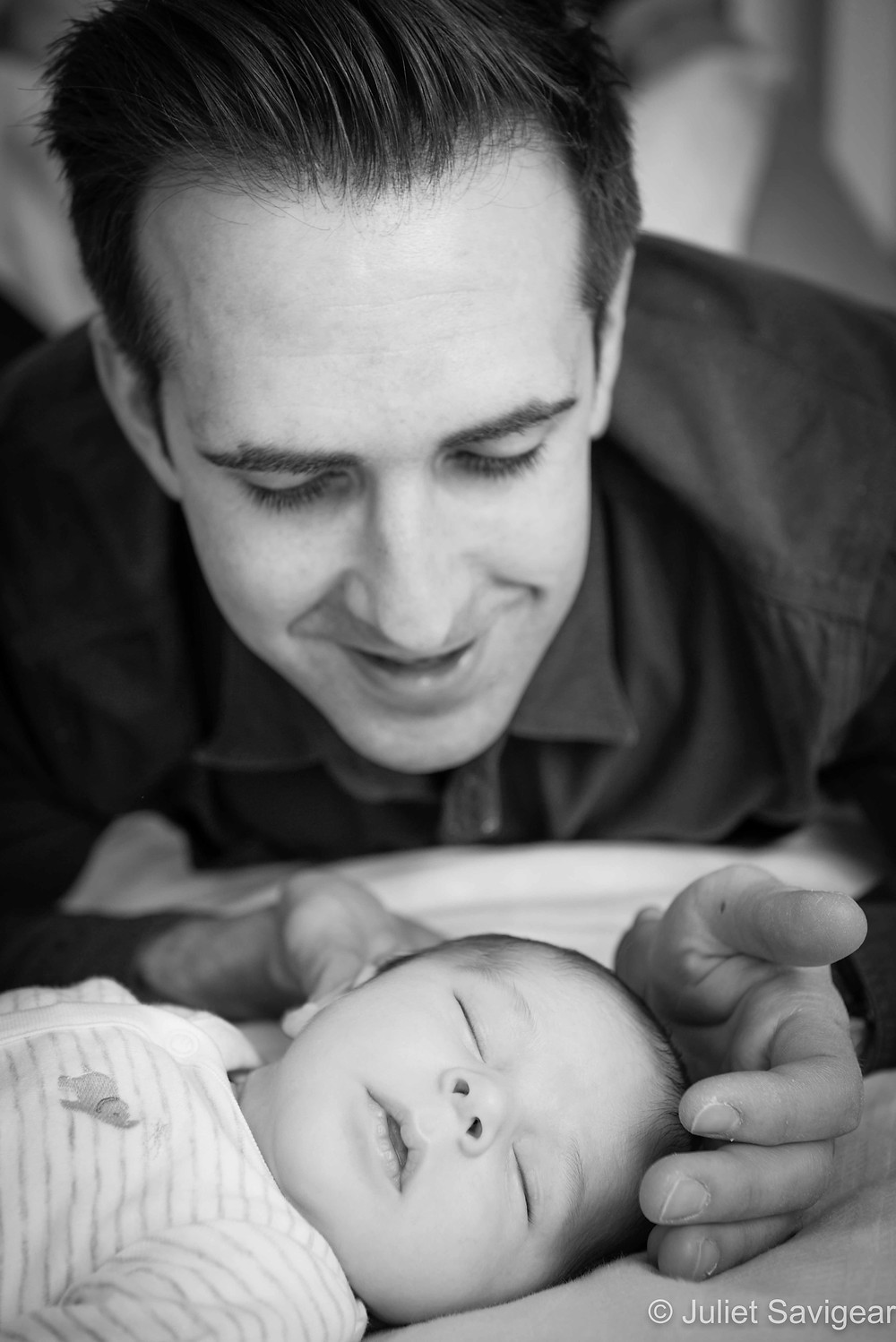 Father & Son - Newborn Baby Photographer, Earlsfield