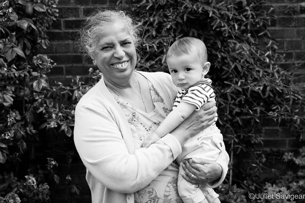 With Grandma - Baby & Family Photography, Ealing