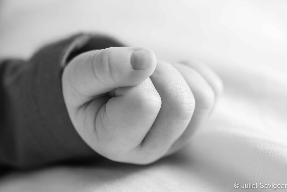 Baby's fist