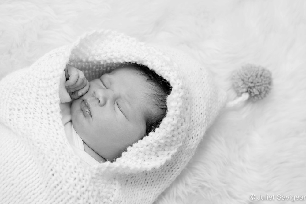 Sleeping Baby - Newborn Baby Photography, Dulwich
