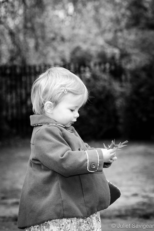 Toddler & Leaf