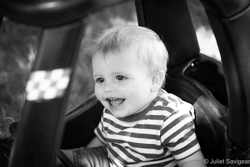 Driving - Children's Photography, Carshalton Beeches