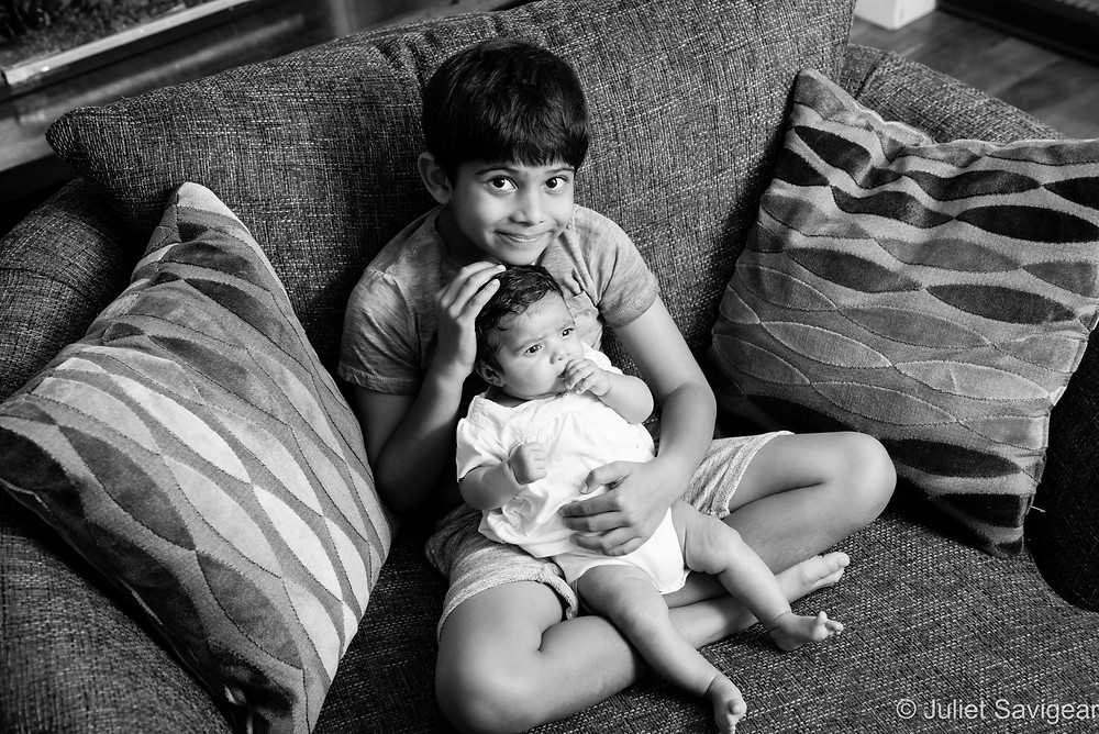 Baby Sister - Children's Photography, Balham