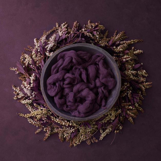 Purple Wreath