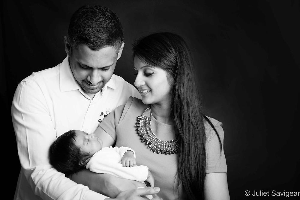 Family Portrait - Newborn Baby Photography, Hammersmith