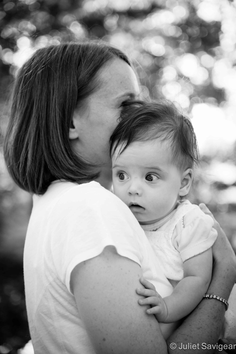 In Mummy's Arms - Baby & Family Photography, Wandsworth Common