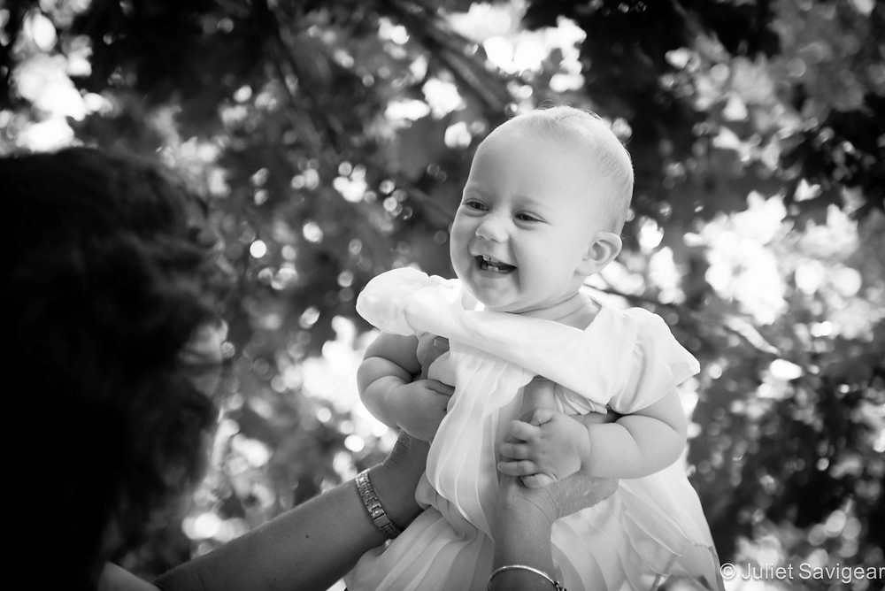 Up In The Air - Baby Photography - Wimbledon