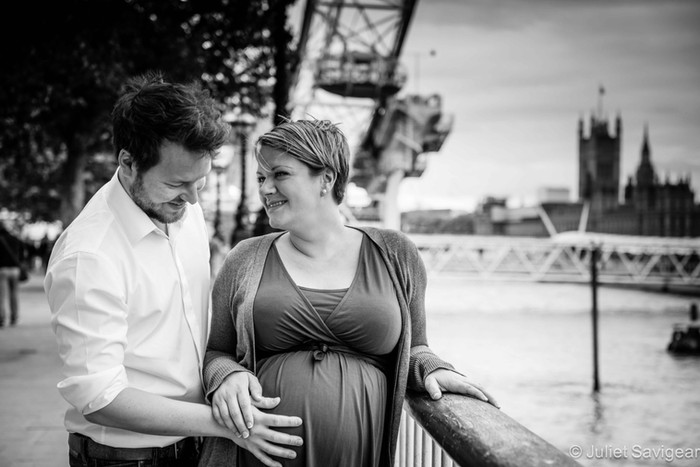 Maternity Photo Shoot - Southbank, London