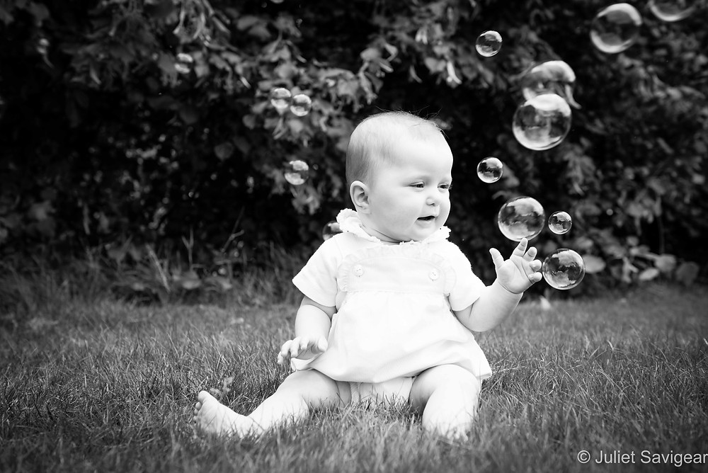 Bubbles - Baby Photography - Kenwood House
