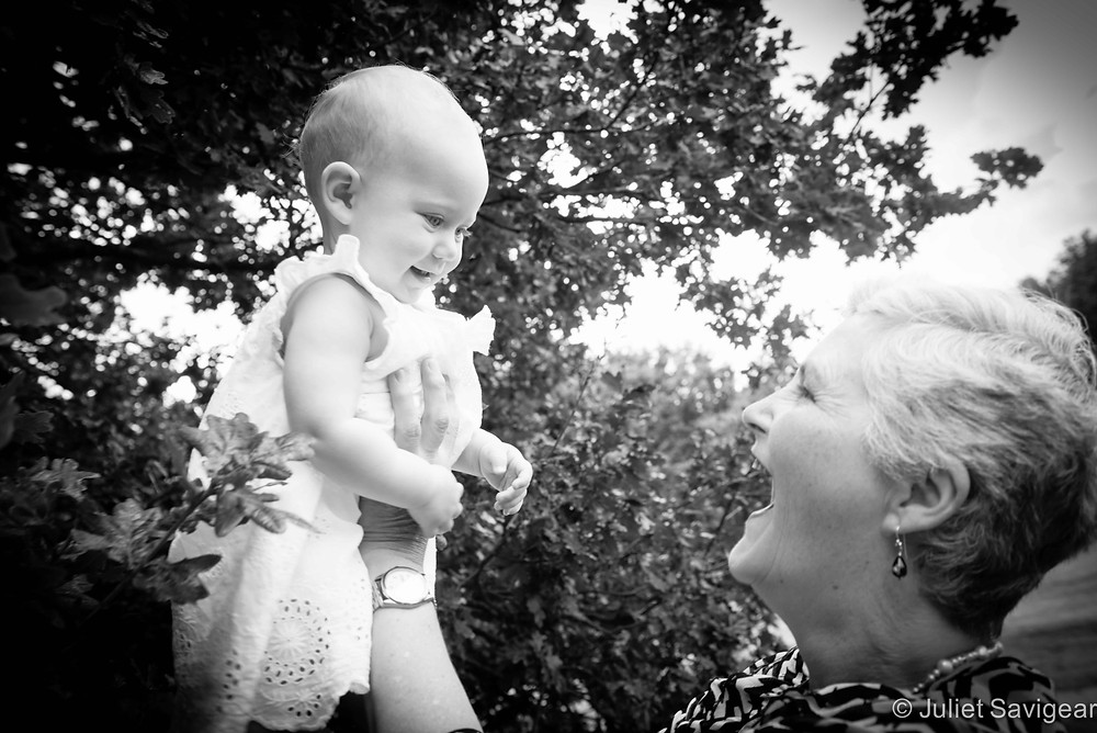 With Auntie - Family & Baby Photography - Wimbledon