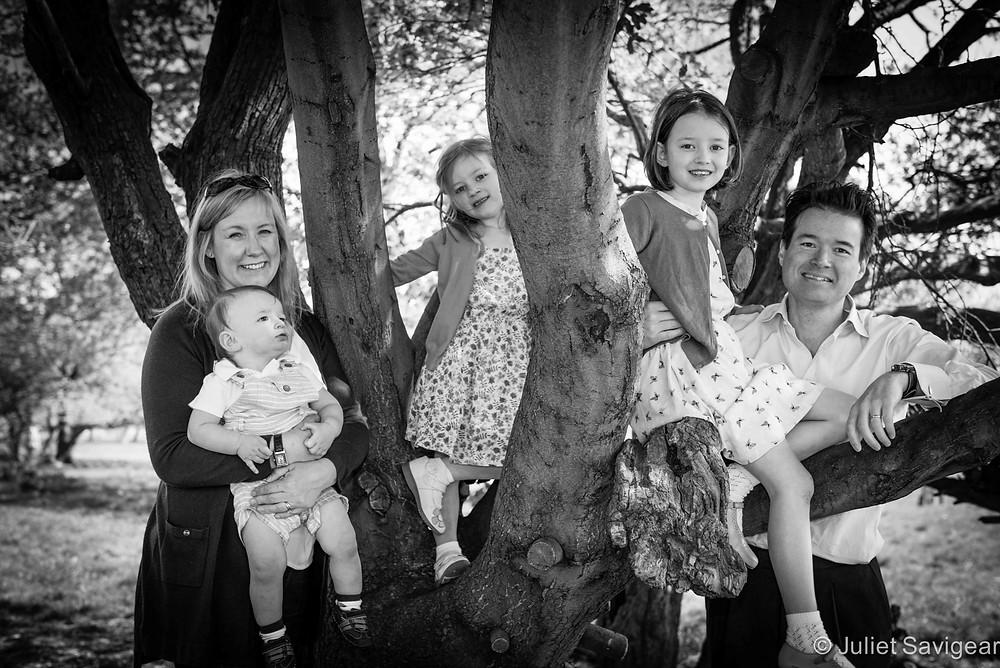 Family Group Portrait - Clapham Common
