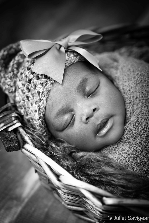Close Up Head - Newborn Baby Photographer, Streatham