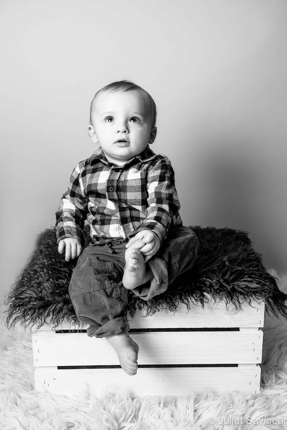 On The Box - Baby Photography - Ealing