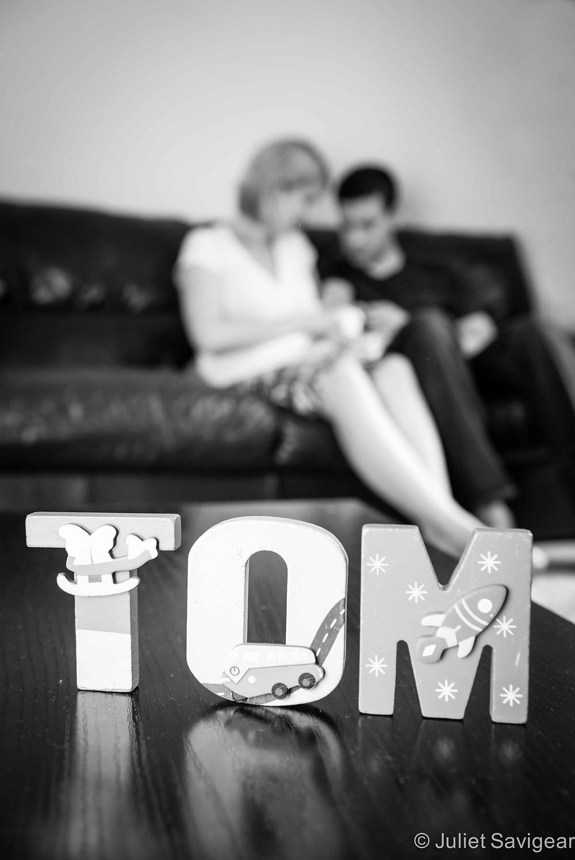 Tom - Newborn Baby Photography, Greenwich