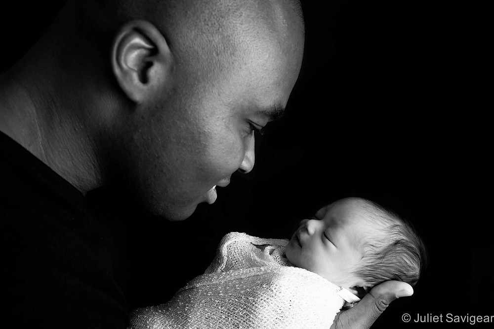 Daddy's Girl - Newborn Baby & Family Photography, Fulham