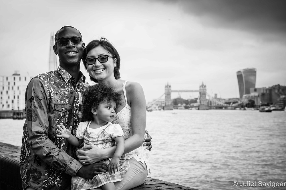 Views Along The Thames - Family Photography, Surrey Quays, London, SE16