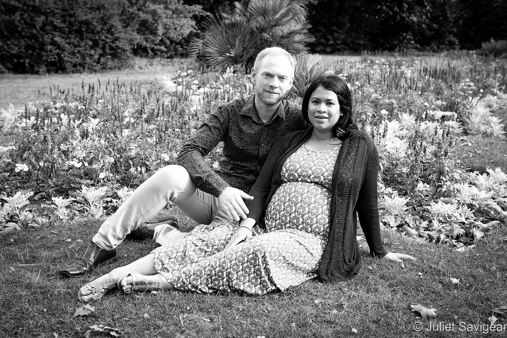 Among The Flowers - Maternity Photography - Brockwell Park
