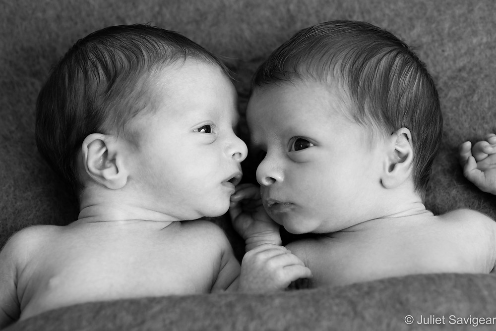 Newborn Baby Twins Photography - Mitcham, Surrey