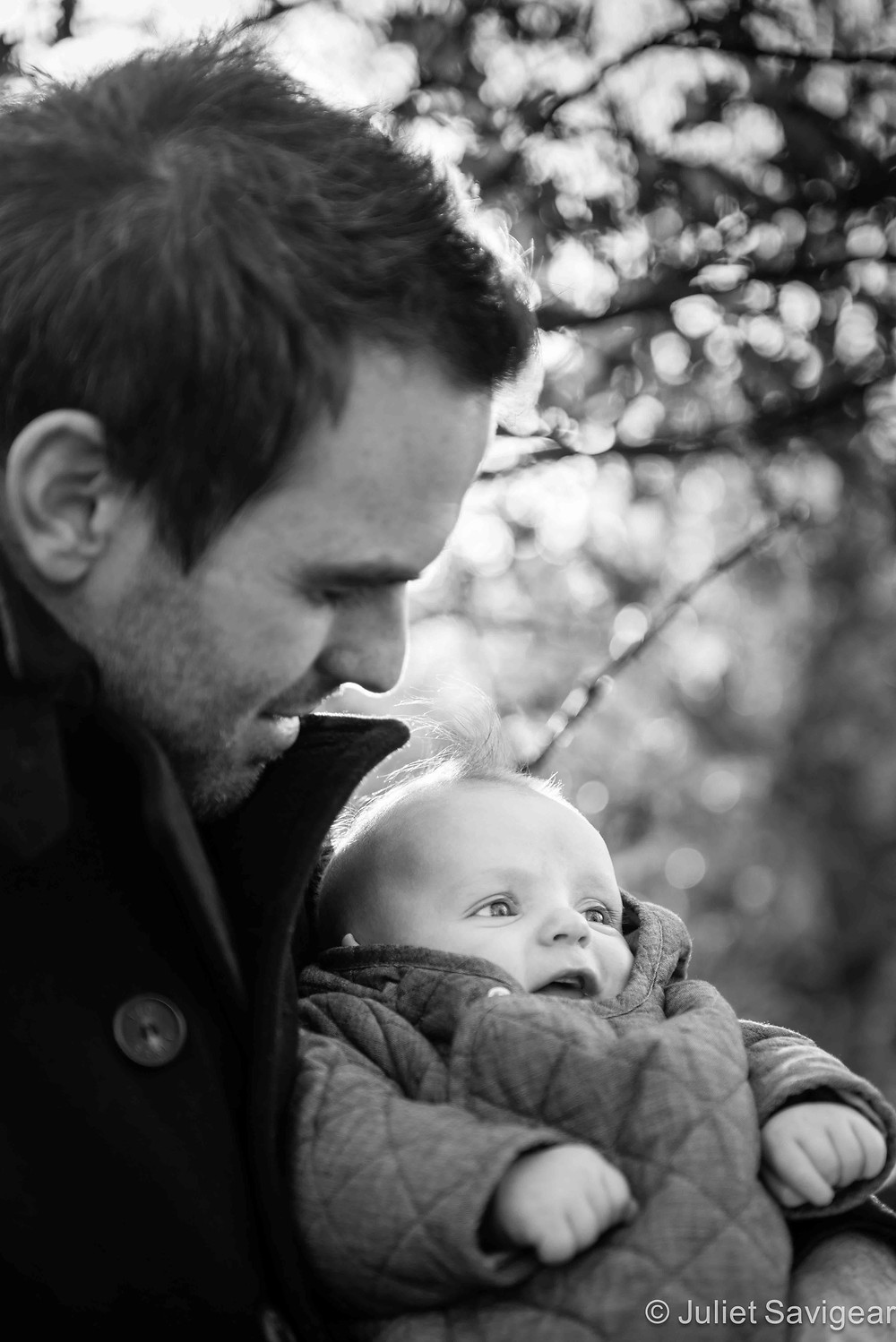 Father & Son - Baby & Family Photography, Tooting Common