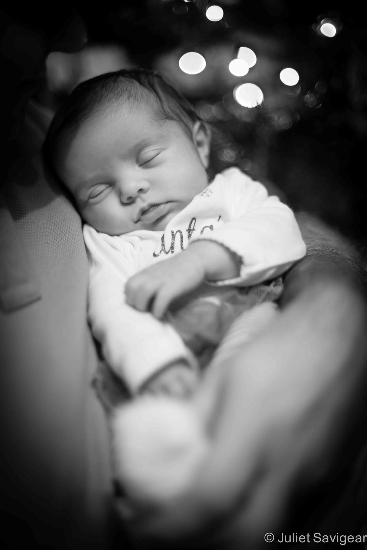 Santa Baby - Newborn Baby Photography, Wimbledon