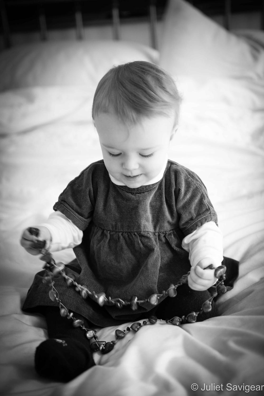 Necklace - Baby Photography, Belsize Park