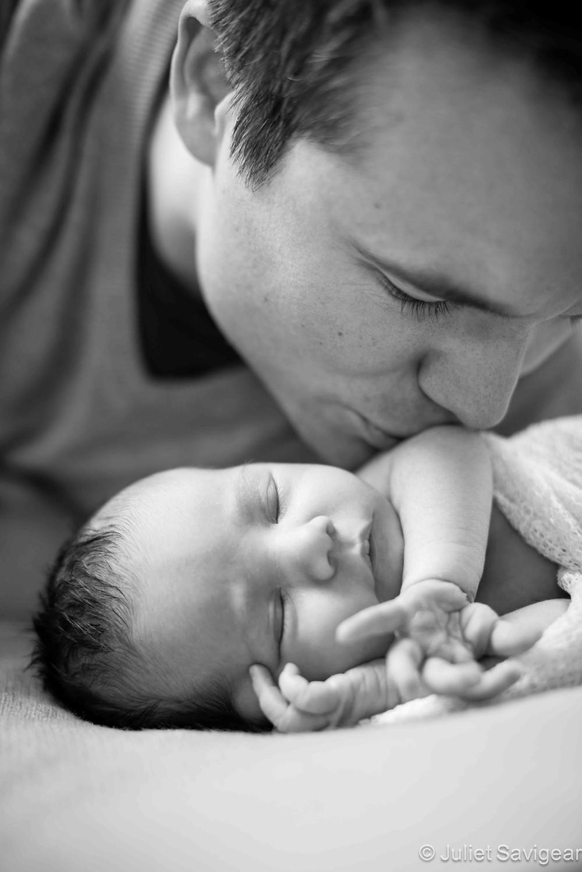 Daddy's Girl - Newborn Baby & Family Photography, Clapham
