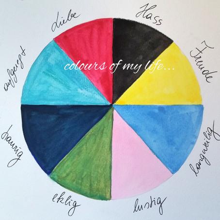 colours of my life…  Farben als Sprache des Unbewussten #maximaCOMEPASS
