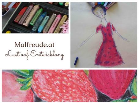 Frau Blau liebt Pastell und Erdbeeren