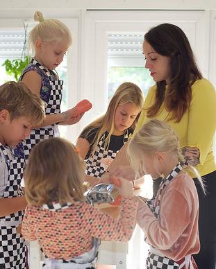 Cooking workshop for kids
