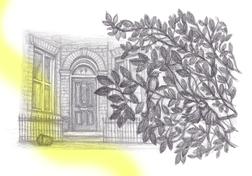 Illustration for Short Fiction Journal, 2020